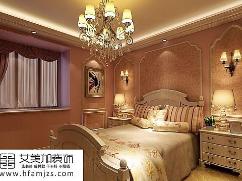 欧式风格-明快简约127平米三居室