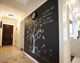 合肥艾美加装修:黑板墙的好处