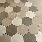 南七花园精挑细选的蜂窝砖—合肥装修设计实景