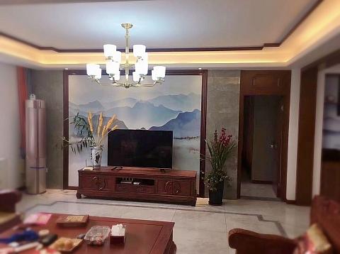 中海公馆【装修实景】,150平中式,大美客厅,独领风骚