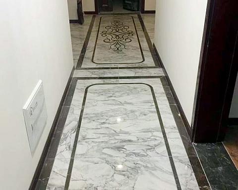 新中式瓷砖,客厅和门厅谁最更有韵味